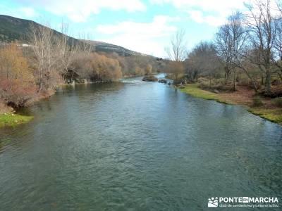 Ruta Turrón y Polvorón - Embalse Pinilla; el valle del jerte en flor barranco del río dulce sende